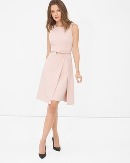Double-Layer A-Line Dress
