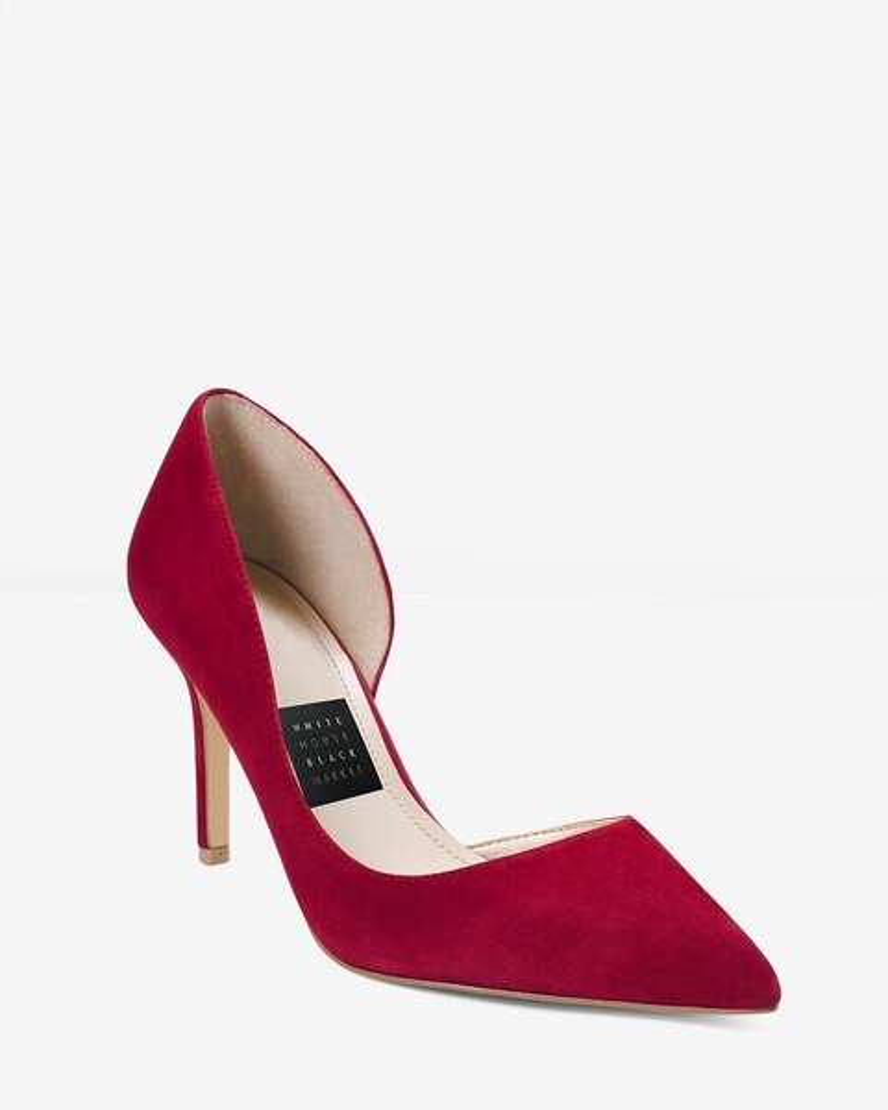 c00df3ab7 Ella Suede d Orsay Heels - White House Black Market