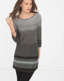 Shimmering Sweater Tunic