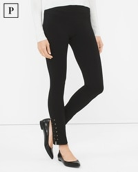 Petite Lace-Up Instantly Slimming Leggings