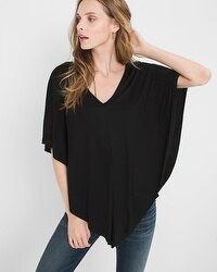 Short-Sleeve Drama Top
