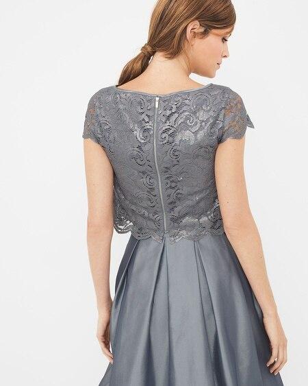 6e824a03c3f44 Lace Crop Bodice Top - White House Black Market