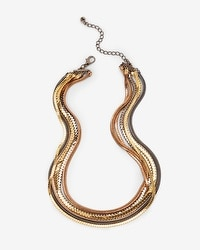 Mixed-Chain Necklace