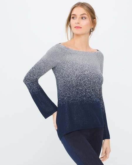Shimmer Ombre Pullover