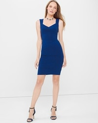 Tiered Instantly Slimming Dress