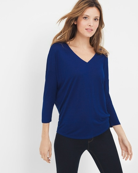 Three-Quarter Sleeve Jetsetter Tee