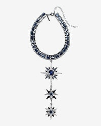 Blue Stars Choker Necklace