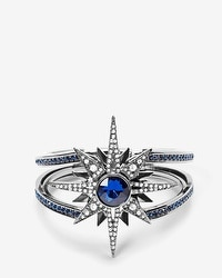 Blue North Star Hinge Cuff