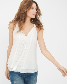 Sleeveless Boho Top