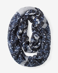 Abstract Floral Infinity Scarf