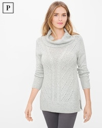 Petite Cable-Knit Pullover