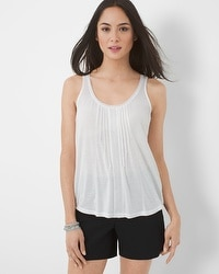 Lace-Up Back Tank