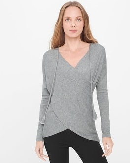Cross-Front Sweater