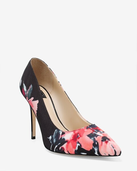 6a2ce3537ea Olivia Floral Pumps - White House Black Market