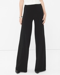 Knit Wide-Leg Pants