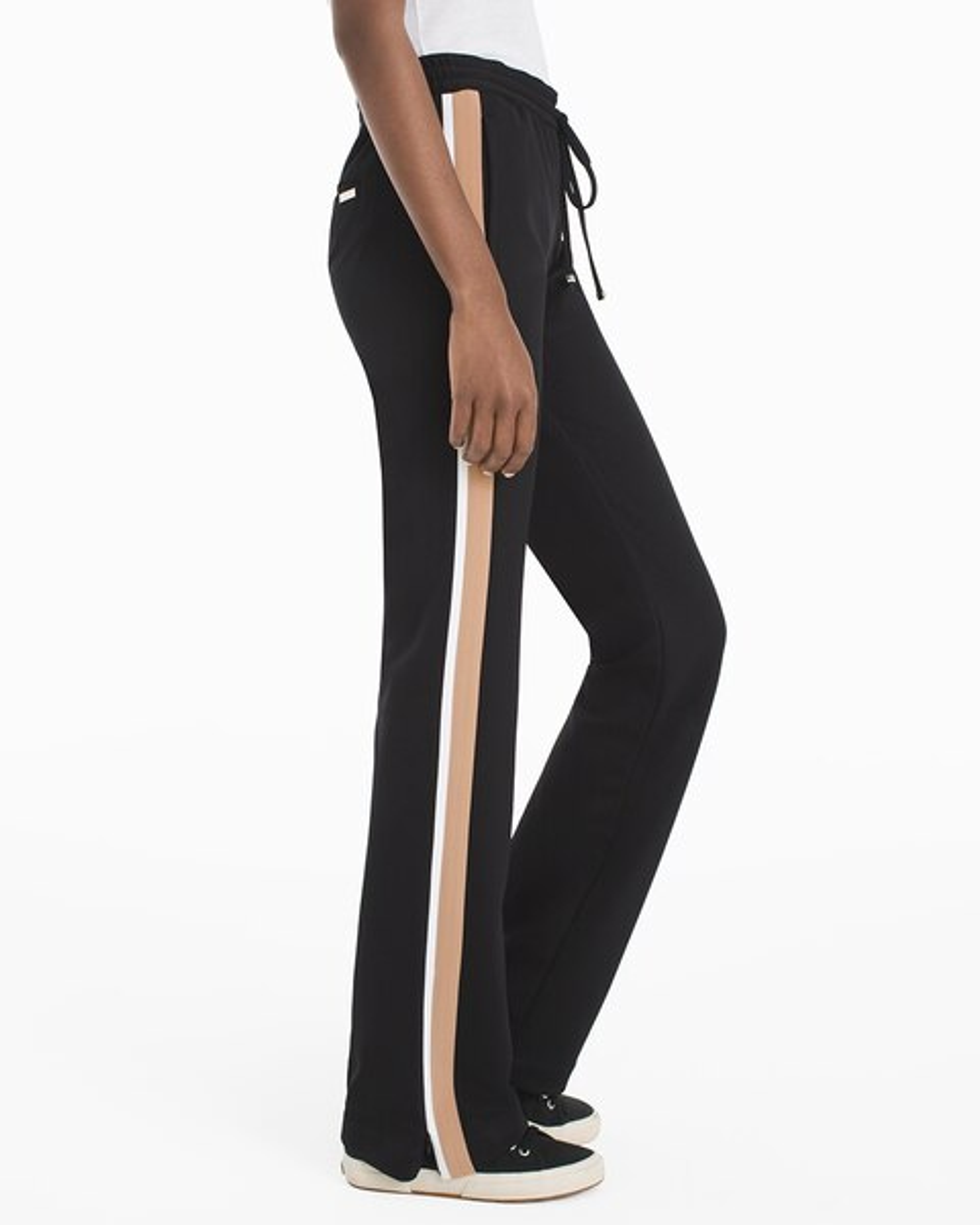 17039ffa2093 Side-Stripe Track Pants - White House Black Market