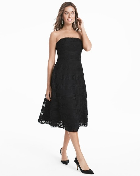 black dress cocktail
