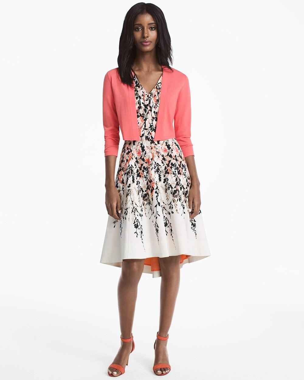 Hi lo white dress