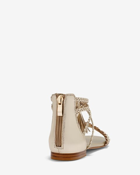 a228559856f7 Return to thumbnail image selection Gold Braided Leather Sandals