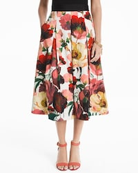 Poppy Full Midi Skirt