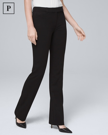 Petite All-Season Slim Bootcut Pants