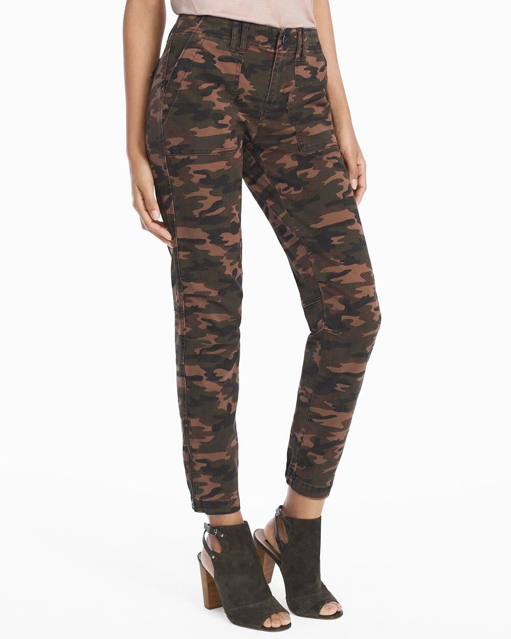 82c6ac50b8e Utility Slim Camo Jeans - White House Black Market
