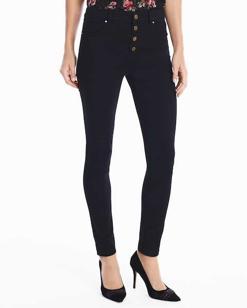 463b06bfc6a High-Rise Black Skinny Ankle Jeans - White House Black Market