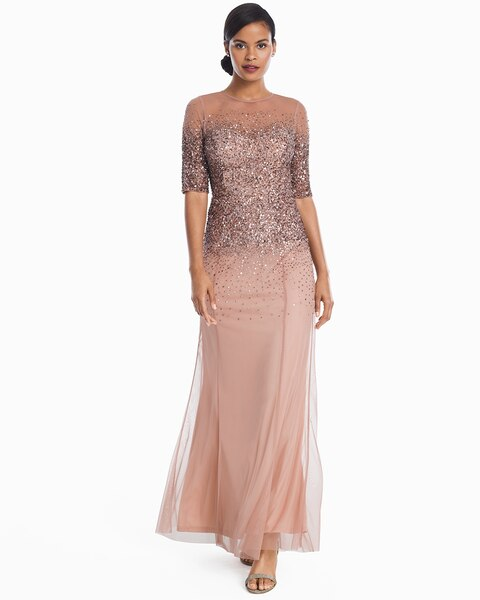 Ombre Sequin Gown - White House Black Market