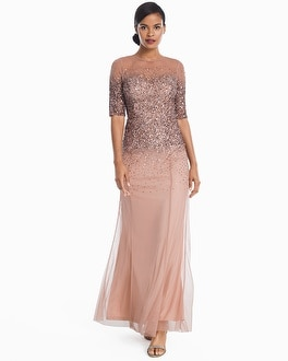 White House Black Market Ombre Sequin Gown at White House | Black Market in Sherman Oaks, CA | Tuggl