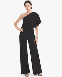 3d90f20747c One-Shoulder Jumpsuit - White House Black Market