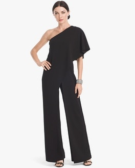 One-Shoulder Jumpsuit | Tuggl