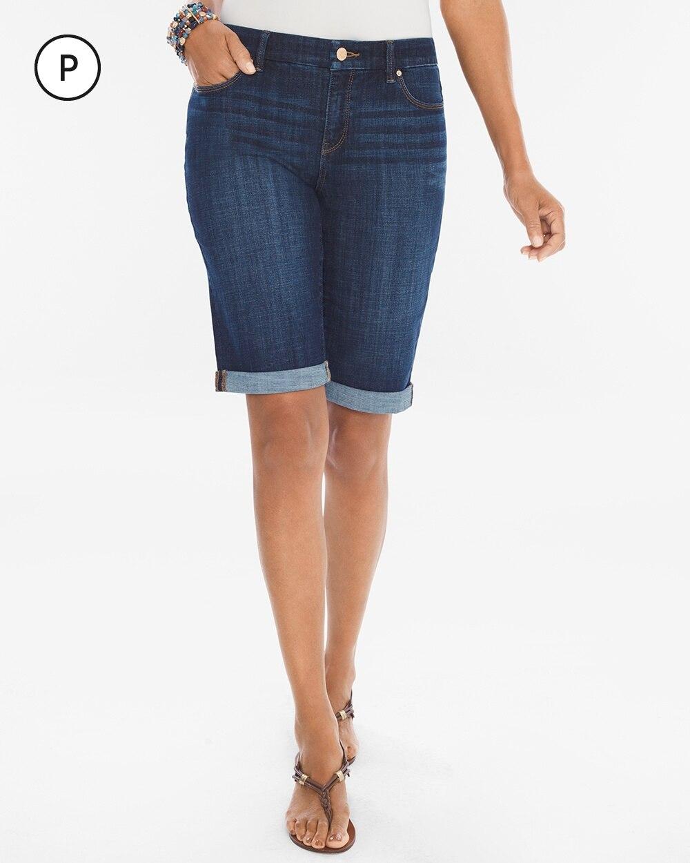 So Slimming Petite Girlfriend Shorts- 10.75 Inch Inseam