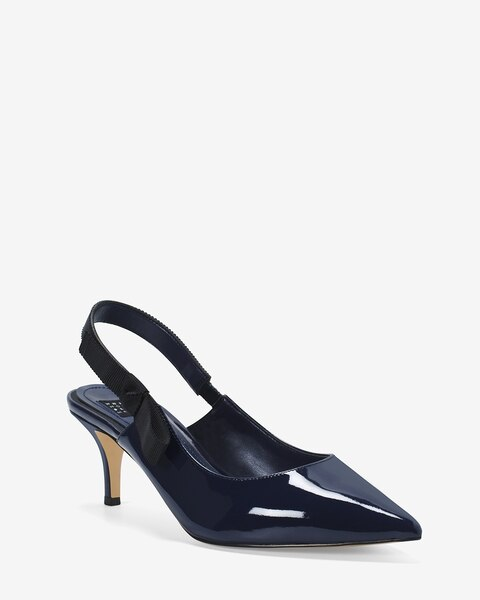 Patent Leather Slingback Pumps - White House Black Market