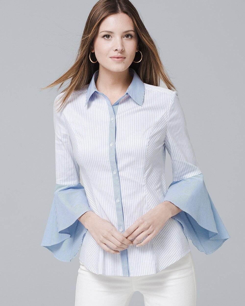 c69aafc9b61 Sophia Stripe Shirt - White House Black Market
