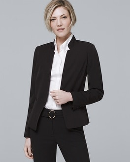 White House Black Market Seasonless Black Blazer Jacket at White House | Black Market in Sherman Oaks, CA | Tuggl