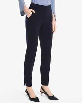 Knit Slim Ankle Pants by Whbm