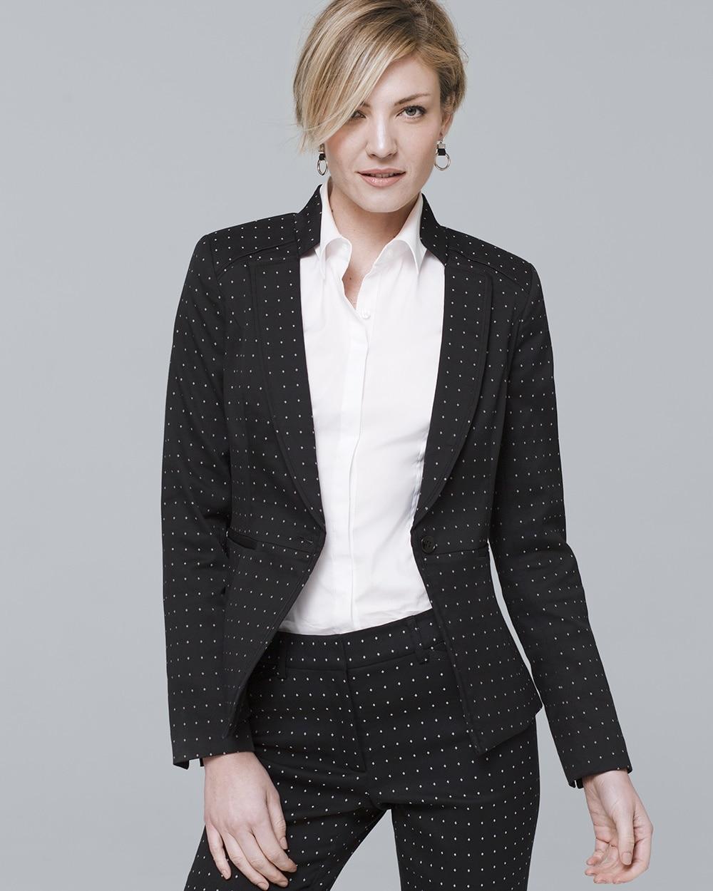 0c2f7db850 Diamond Dot Blazer Jacket - Shop Jackets For Women - Blazers, Vests,  Trenches & More - White House Black Market