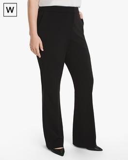 White House Black Market Plus Stretch Knit Slim Pants at White House | Black Market in Sherman Oaks, CA | Tuggl