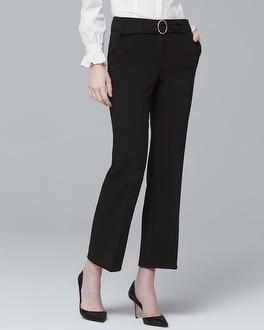 Belted Trouser Pants by Whbm