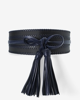 Whipstitch Obi Belt by Whbm