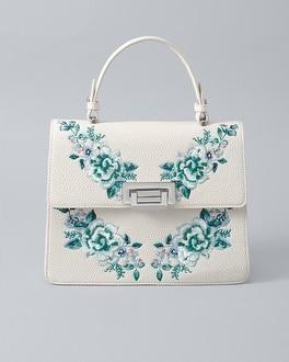 White House Black Market Embroidered Handbag at White House | Black Market in Sherman Oaks, CA | Tuggl