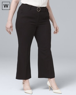 White House Black Market Plus Belted Trouser Pants at White House | Black Market in Sherman Oaks, CA | Tuggl