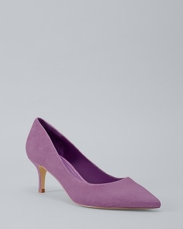 Suede Kitten Heels by Whbm