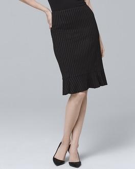 White House Black Market Pinstripe Pencil Skirt at White House | Black Market in Sherman Oaks, CA | Tuggl