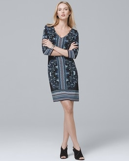 4 Way Reversible Knit Shift Dress by Whbm