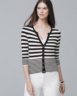Stripe Cardigan by Whbm