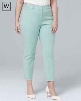 White House Black Market Plus Comfort Stretch Slim Ankle Pants at White House | Black Market in Sherman Oaks, CA | Tuggl