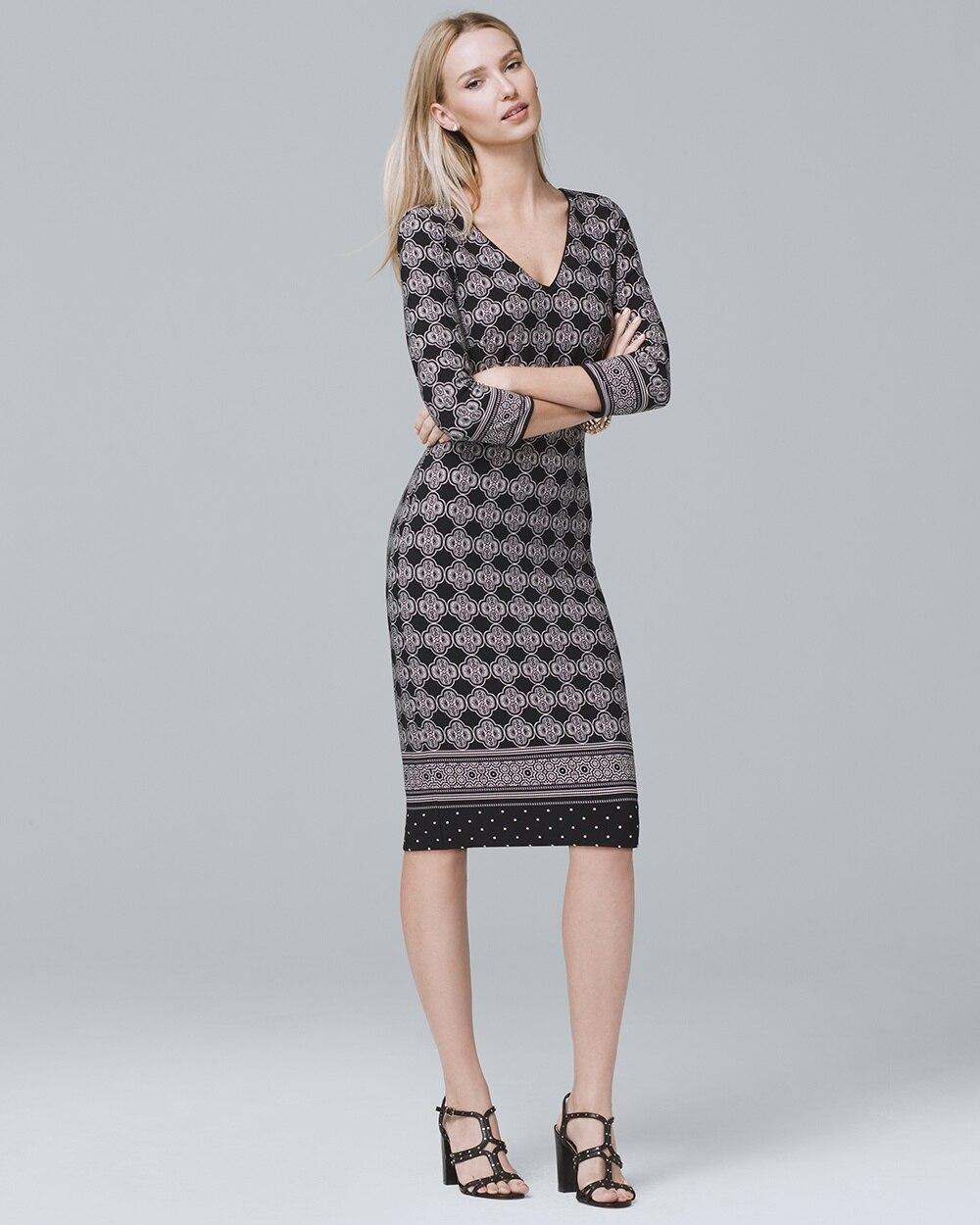 fb8b4f28cd Reversible Sheath Dress - White House Black Market