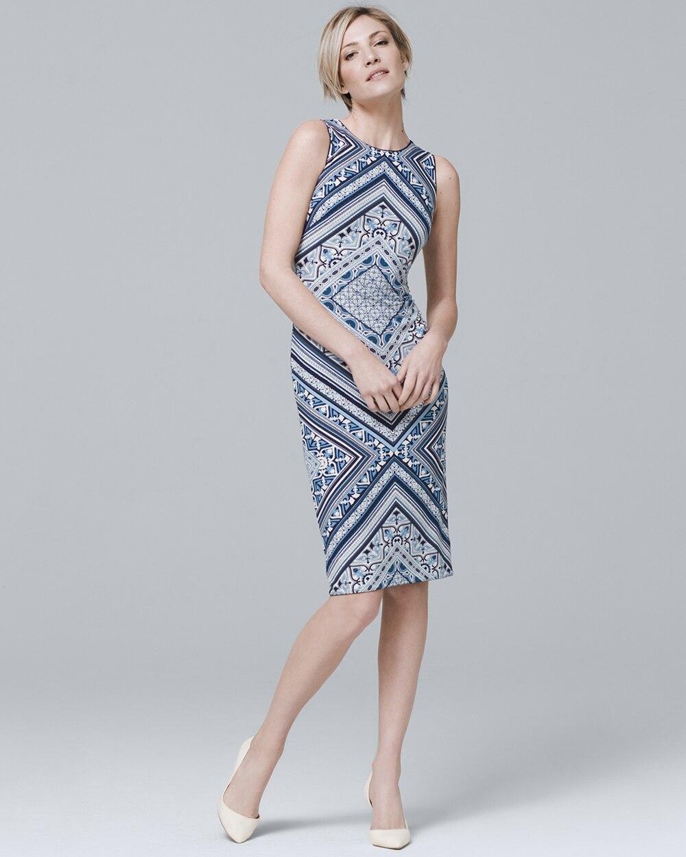 a2b789f1ea Reversible Sleeveless Knit Sheath Dress - White House Black Market