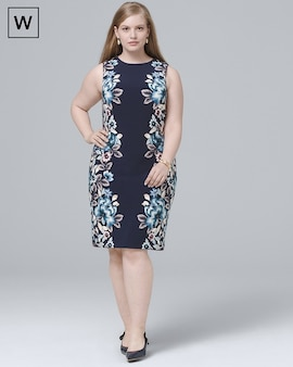Shop Plus Size Dresses For Women Shift Fit Flare Blouson